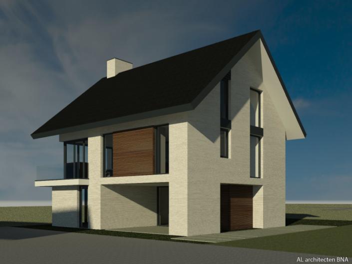 Nieuwbouw eigentijdse dijkwoning in Rhenen