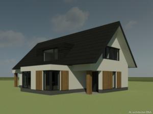 Eigentijdse landelijke woning in Zwolle