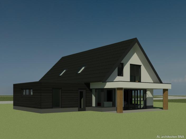 Woonhuis in de groen buitengebied nabij de IJssel