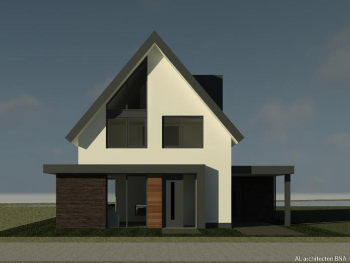 Nieuwbouw modern eigentijdse woning in Delden