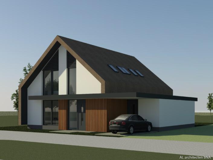 Nieuwbouw rietgedekte schuurwoning in Doetinchem