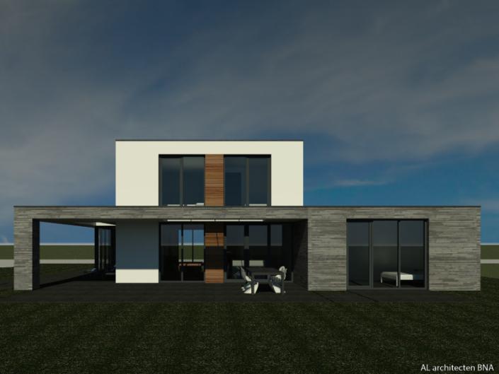 Nieuwbouw hedendaags woonhuis in Epe