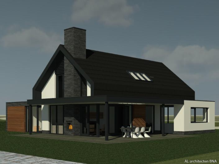 Nieuwbouw moderne villa in Heerhugowaard