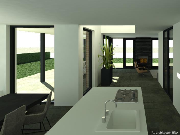 Moderne en eigentijdse woning aan het water