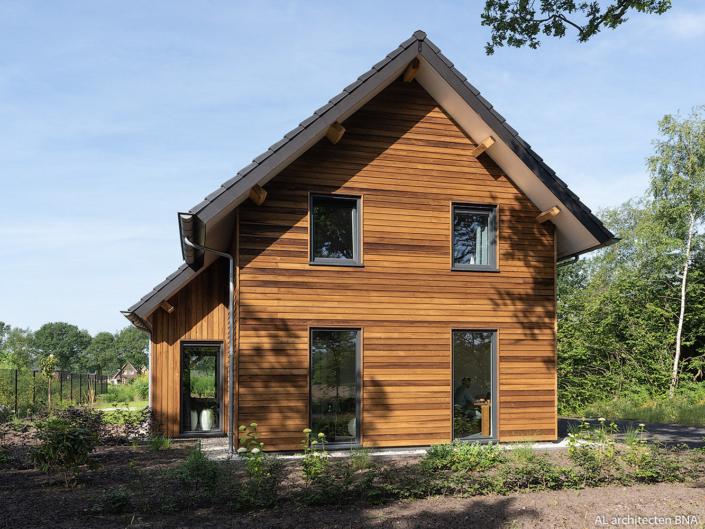 Nieuwbouw landelijke schuurwoning in Nieuwehorne