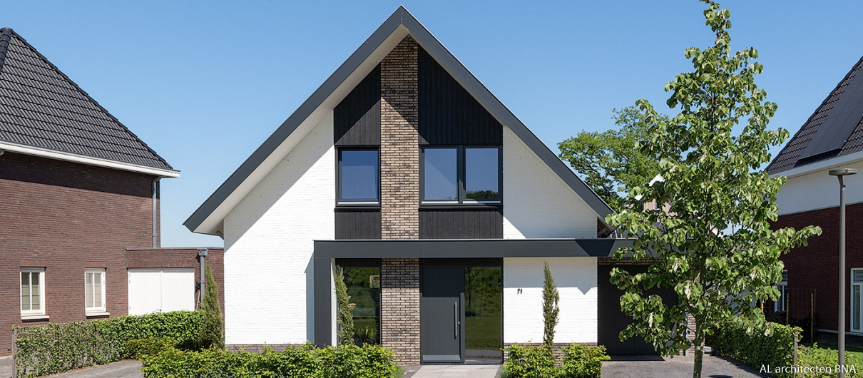 Nieuwbouw modern woonhuis in Borne