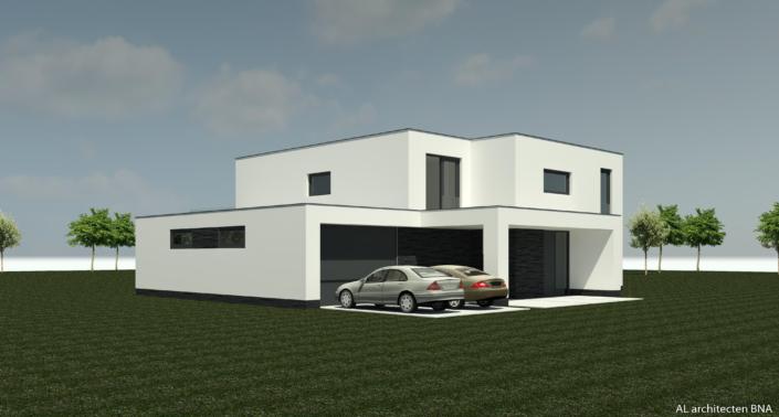 Nieuwbouw moderne vrijstaande woning in Den Haag