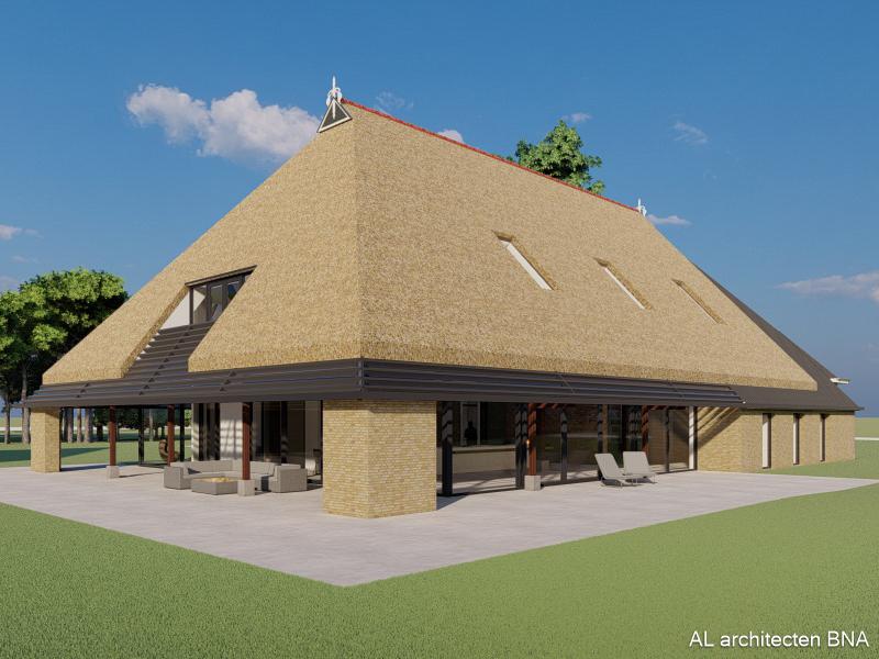Verbouwing boerderij uit 1900 in Friesland
