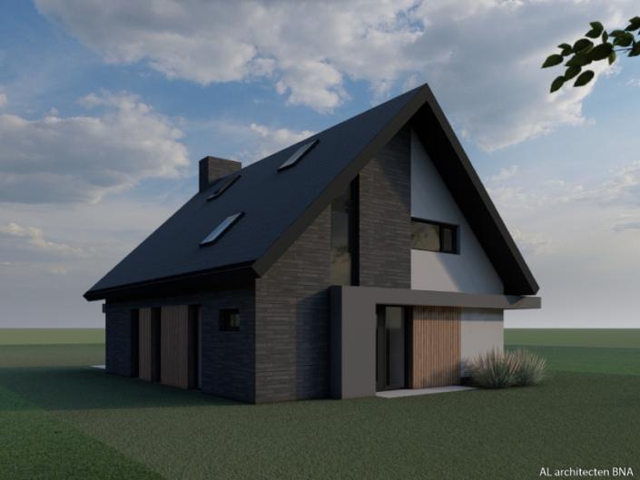 Nieuwbouw strakke vrijstaande woning in Zwolle