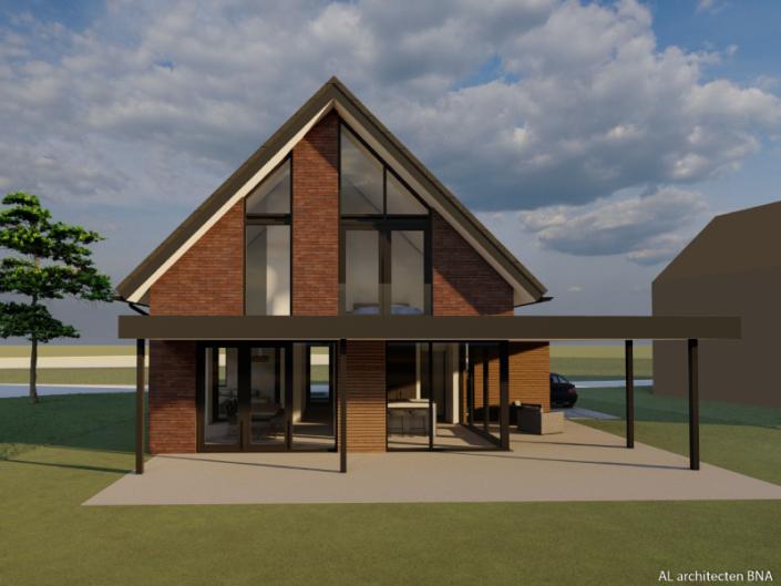 Nieuwbouw van een vrijstaande woning in Hasselt