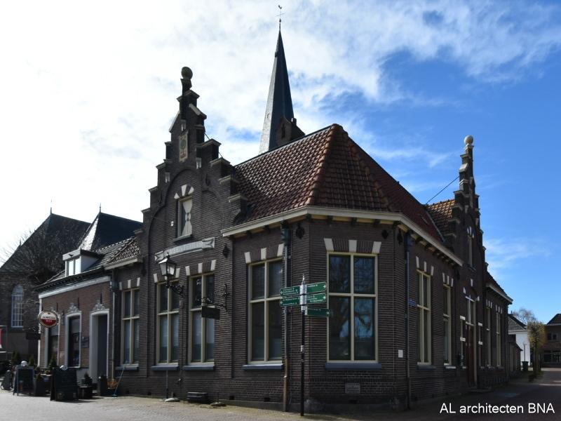 Verbouw gemeentelijke monument   Wijhe